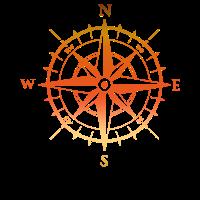 kompass suedpol nordpol magnet