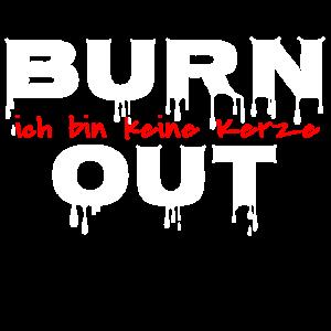 Burnout keine Kerze