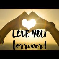 I love you forver