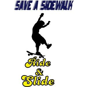 Sidewalk Skater Longboarder