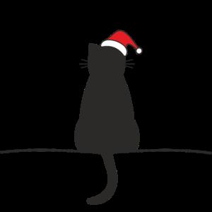 Katze Weihnachten Weihnachtskatze
