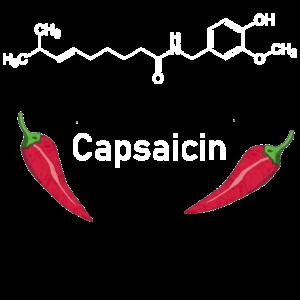 Capsaicin, Chili, Paprika, Strukturformel, Chemie