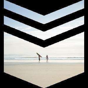 Surf Beach Triangle