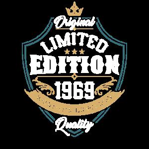 ORIGINAL LIMITED EDITION 1969 50. Geburtstag