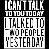 Lustiges Ich hasse Menschen!