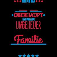 ungeheuer fantastische Familie - Shirt - 1C