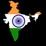 Indien Flagmap