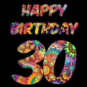 Geburtstag 30 Exotisch