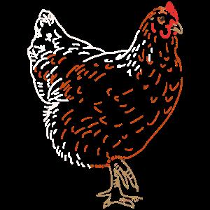 Huhn oder Hahn