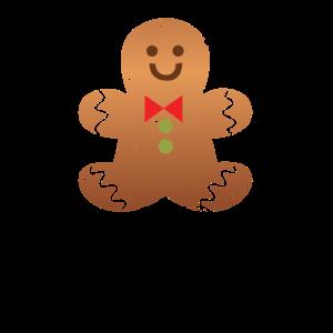 Lebkuchenmann aus Lebkuchen