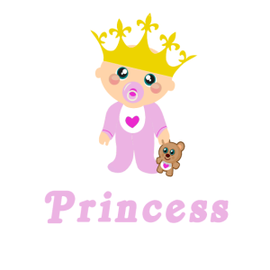 Mamas Prinzessin Königin Baby Strampler Krone Herz
