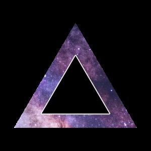 Hipster Galaxy Dreieck
