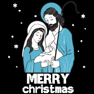 Weihnachten Maria Joseph Jesus