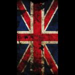 UK Union Jack Grunge Flag