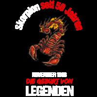 1968 Sternzeichen Skorpion 50. Geburtstag Geschenk