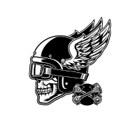 Motorrad Biker Bikerin Chopper Rocker Motorcycle