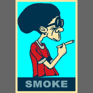 """POSTER Kiffer Dude """"yes we can Hope-Smoke"""" DOPE"""