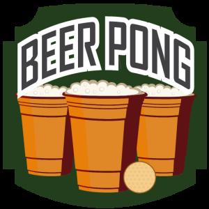 Beer Pong Vintage Wappen