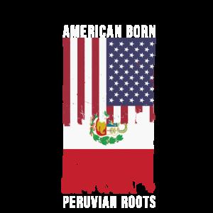 Amerikaner geboren, peruanische Wurzeln Südamerika Latino