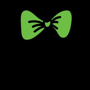 Grüne Fliege Krawatte Querbinder