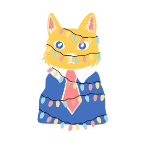 Katze lichterkette