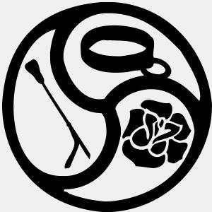 Triskele triskelion BDSM Emblem LowRes 1 color