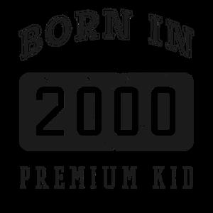 Born in 2000 Geburtstag T-Shirt Geschenk zum 18.