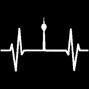 Puls Herzschlag Rheinturm Duesseldorf