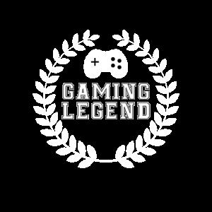 Gaming Legend Funshirt für Gamer