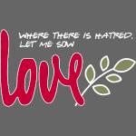 Let me sow love (dark)
