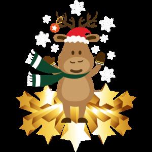 Suesser Elch HARIZ Weihnachten Xmas Geschenk