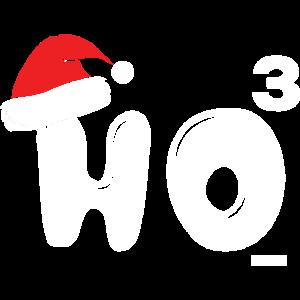 Weihnachten HO HO HO Nikolaus Muetze HARIZ Geschen