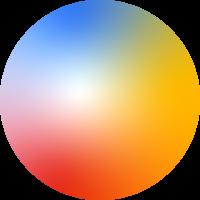 Verlauf Gradient Farbe Abstrakt Modern Geschenk