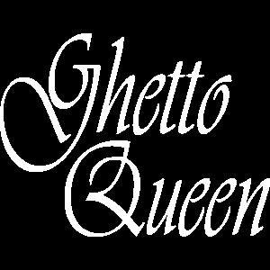 Ghetto Queen Partnershirt Geschenk Geburtstag