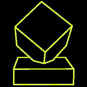 Cobble Roubaix Icon Gelb groß