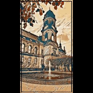 Altstadt Dresden im Herbst