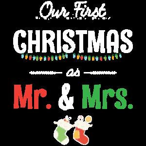 Unser erstes Weihnachtsfest als Mr. und Mrs. Ugly Sweater