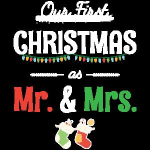 Unser erstes Weihnachtsfest als Herr und Frau