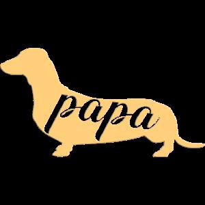 Dackelpapa Dackel Dackelliebhaber Hund