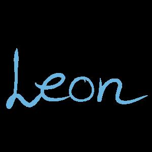 Name Namensschild Leon 2