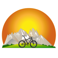 Sonnenaufgang Berge MTB 2