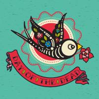 Day of the dead. Bird Love.
