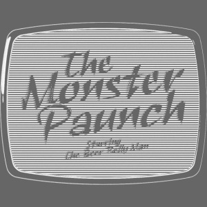 Brzuch Monster (biały)