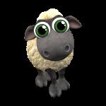 Farmerama Schaf mit großen Augen