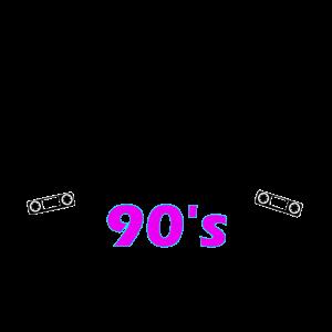 never forget the 90's 90er jahre neon Geschenk