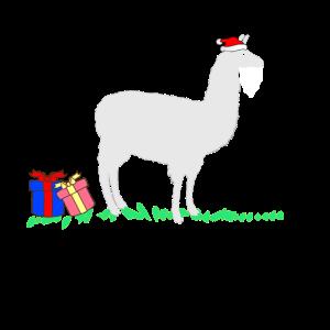 Alpaca Weihnachten