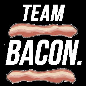 Team Bacon Speck Geschenk Grill grillen Schwein