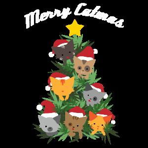 Katzenbaum Weihnachtsbaum Weihnachten Geschenk