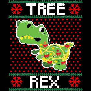 T-Rex Ugly Dino Christmas Dinosaurier Weihnachten