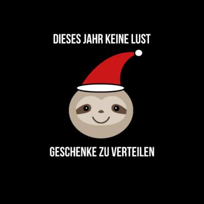 Anti Weihnachten Sprüche.Designs Zum Thema Weihnachtsfaultier Weihnachtsfaultier T Shirts